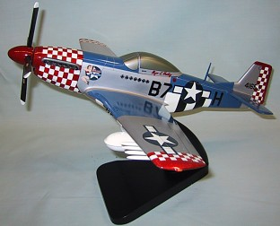 P-51 Mustang Custom Scale Model Aircraft