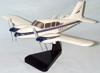 Piper Aztec Custom Scale Model Aircraft