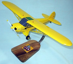 Piper Cub Custom Scale Model Aircraft