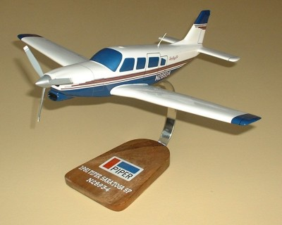 Piper Saratoga SP Custom Scale Model Aircraft