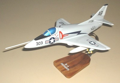 A-4 Skyhawk Navy Custom Scale Model Aircraft