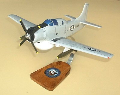 EA-1E Skyraider Custom Scale Model Aircraft