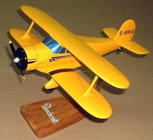Beechcraft Staggerwing Custom Scale Model Aircraft