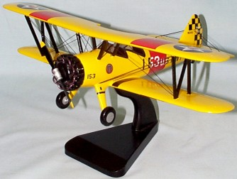 PT-17 Stearman Custom Scale Model Aircraft