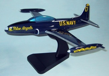 T-33 Blue Angels Naval Air Training Command Custom Scale Model Aircraft