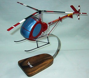 Us Army TH-55 Helicopter Custom Scale Model Aircraft