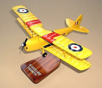 De Havilland D.H.82 Tigermoth Custom Scale Model Aircraft