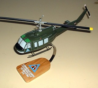 UH-1D Vietnam Era Helicopter Custom Scale Model Aircraft