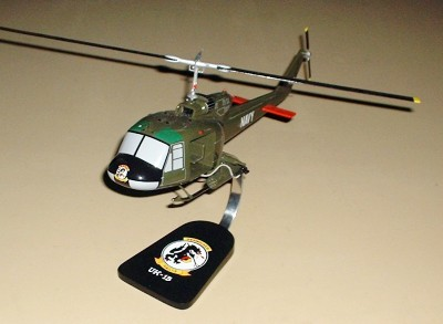 UH-1B Helicopter Custom Scale Model Aircraft