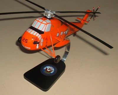 UH-34D Helicopter Custom Scale Model Aircraft