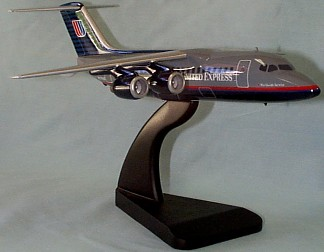 BAE-146 United Express Custom Scale Model Aircraft