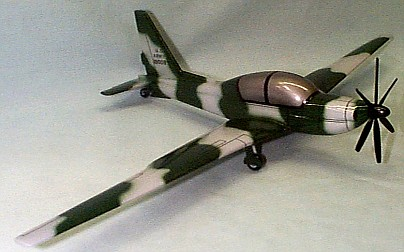 YO-3A Custom Scale Model Aircraft