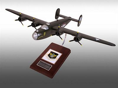 B-24D Liberator (Olive) 1/62 Scale Model Aircraft