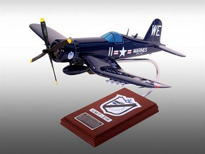 F4U-4 Black Sheep Squadron USMC 1/26 Scale Model Aircraft