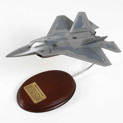 F-22 Raptor Scale Model Aircraft