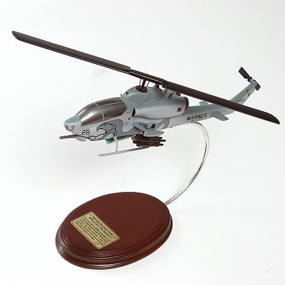 AH-1W Cobra Scale Model Aircraft