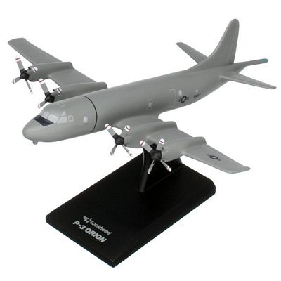 P-3C Orion (Low-vis Gray) 1/85 Scale Model Aircraft