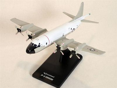 P-3C Orion (Hi-Vis White/Gray) 1/85 Scale Model Aircraft