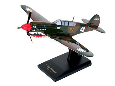 P-40E Warhawk 1/32 Scale Model Aircraft
