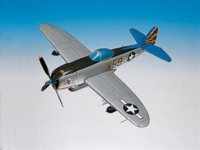 P-47B Thunderbolt Razorback 1/32 Scale Model Aircraft