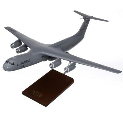 C-141B Starlifter Gray 1/100 Scale Model Aircraft