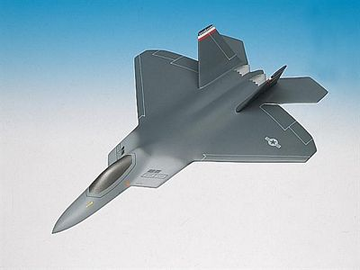 F-22 Raptor 1/72 Scale Model Aircraft