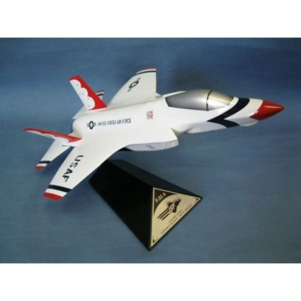F-35A JSF Thunderbirds 1/40 Scale Model Aircraft
