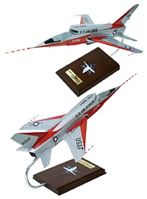 F-107A 1/40 Scale Model Aircraft