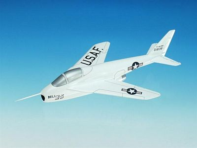 Bell X-5 1/32 Scale Model Aircraft