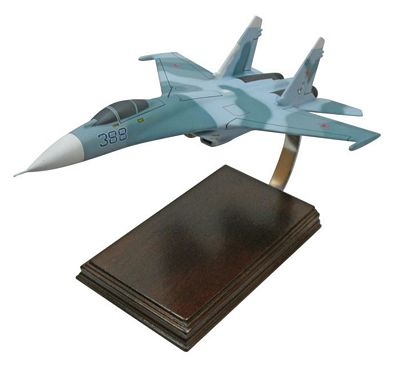SU-27 Flanker 1/48 Scale Model Aircraft