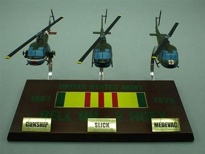 Vietnam Huey Collection 1/48 Scale Model Helicopter