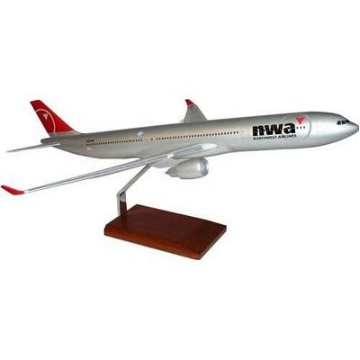 A330-300 Northwest Airlines 1/100 Scale Model Aircraft