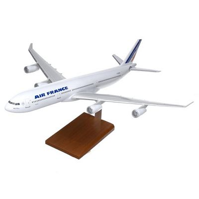 A340-300 Air France 1/100 Scale Model Aircraft