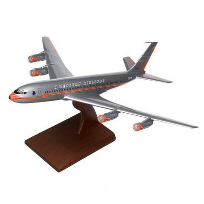 B707-320 American Airlines 1/100 Scale Model Aircraft
