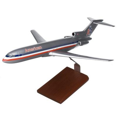 B727-200 American Airlines 1/100 Scale Model Aircraft