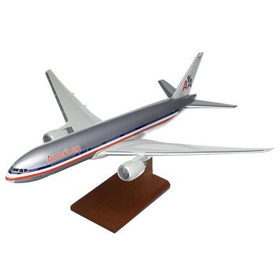 B777-200 American Airlines 1/100 Scale Model Aircraft