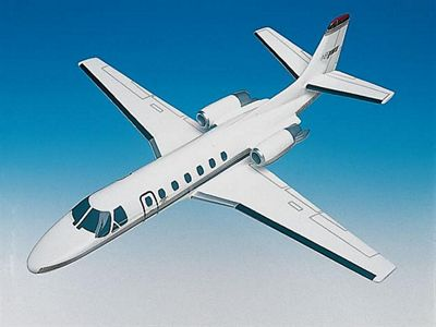 Cessna Citation V Ultra 1/40 Scale Model Aircraft