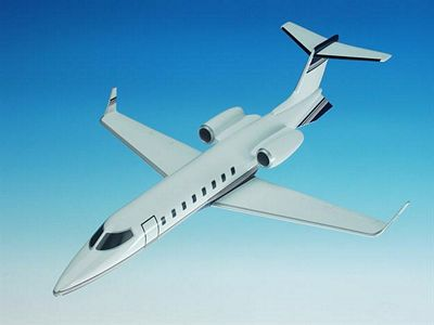 Learjet 45 1/35 Scale Model Aircraft