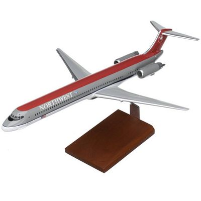 MD-80 Northwest Airlines 1/100 Scale Model Aircraft