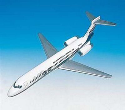 MD-95 Demonstrator 1/100 Scale Model Aircraft