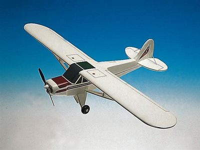 PA-18A Super Cub 1/24 Scale Model Aircraft