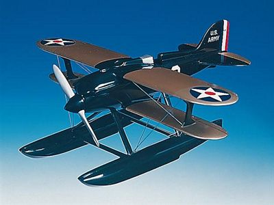 R3C-2 Doolittle 1/20 Scale Model Aircraft