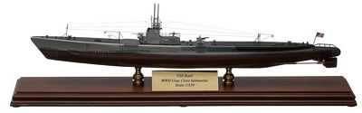 Gato Submarine 1/150 Scale Model