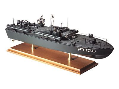 WWII ELCO 80' PT-109 Torpedo Boat 1/40 Scale Model