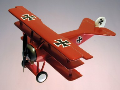 Fokker Dr.1. Red Baron Small Scale Model Aircraft