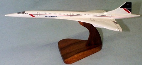 Concorde British Airways Small Scale Model Aircraft