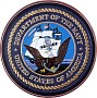 Department Of The Navy Wooden Hand Carved Seal Plaque