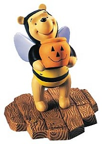 Tricks And Treats For Someone Sweet - Winnie The Pooh And Friends Figurine