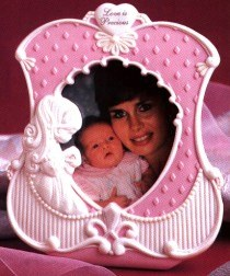 Precious Moments Girl With Pearl Photo Frame
