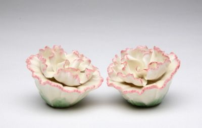 Carnation Salt And Pepper Shakers